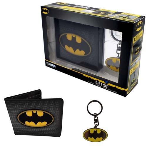 DC Comics Batman Wallet and Keyring gift set.