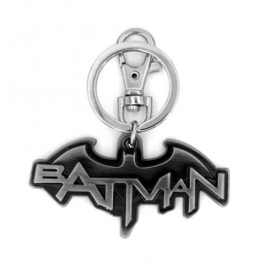 DC Comics Batman Logo (Comics) Pewter Key Chain