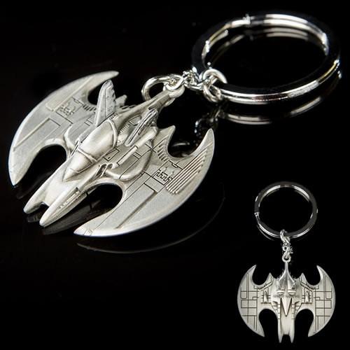 Batman 1989 Movie Batwing Key Chain.