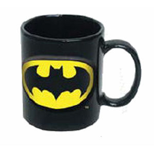 Batman Embossed 20 Ounce Ceramic Mug