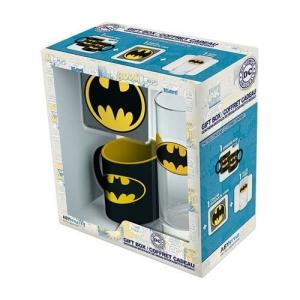 DC Comics Batman Glass - Coaster and Batman Mini Mug Set