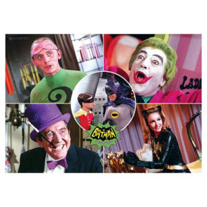 Batman Classic 1966 TV Series The Rogues MightyPrint Wall Art Print