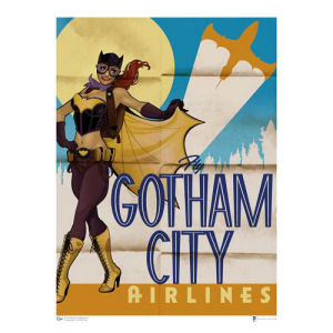 DC Bombshells Batgirl Art Print