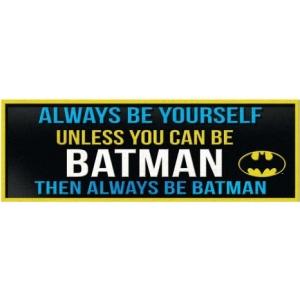 Batman Desk Sign