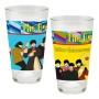 The Beatles Yellow Submarine 16 Ounce Laser Decal Glass 2-Pack.
