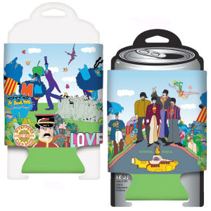 The Beatles Yellow Submarine Can Cooler