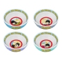 The Beatles Yellow Submarine 4 piece 6 inch Ceramic Bowl Set.