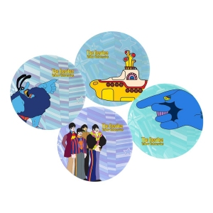 The Beatles Yellow Submarine 4 piece 10 inch Ceramic Plate Set