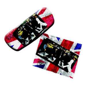 The Beatles Eyeglasses Case with Cleaning Cloth