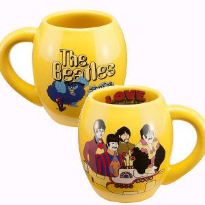 The Beatles Yellow Submarine 18 Ounce Ceramic Oval Mug