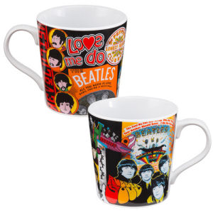 The Beatles Album Collection 12 Ounce Ceramic Mug