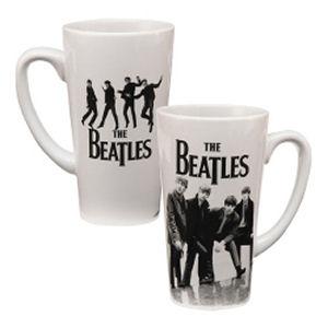 The Beatles 14 Ounce Ceramic Latte Mug