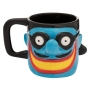 The Beatles Limited Edition Yellow Submarine Meanie Sculpted Ceramic Mug.