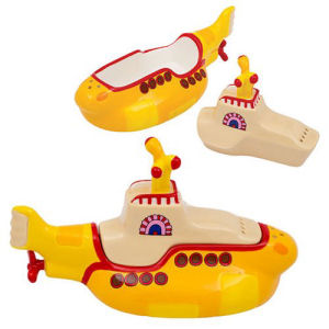 The Beatles Yellow Submarine Salt and Pepper Set