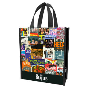 The Beatles Small Recycled Shopper Tote