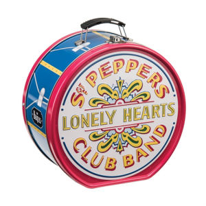 The Beatles Sgt. Peppers Lonely Hearts Club Band Drum Shaped Tin Tote