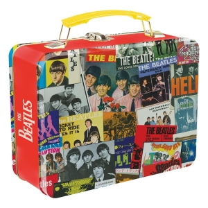 The Beatles The Singles Lunch Box Large Tin Tote