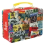 The Beatles The Singles Lunch Box Large Tin Tote.