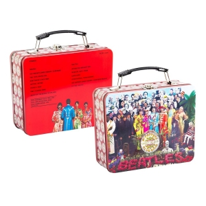 The Beatles Sgt. Peppers Lunch Box Large Tin Tote