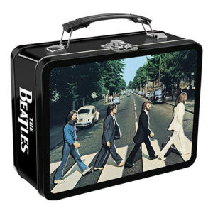 The Beatles Abbey Road Embossed Lunch Box Large Tin Tote
