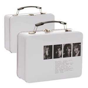 The Beatles Limited Edition White Album Lunch Box Large Tin Tote