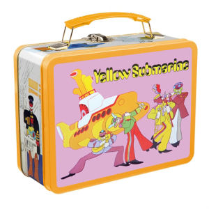 Beatles Yellow Submarine Vintage Lunch Box Large Tin Tote