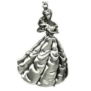 Disney Beauty and the Beast Princess Belle Pewter Key Chain