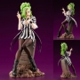 Beetlejuice Bishoujo 1/7th Scale Statue. Beetlejuice can be seen filing her nails while leaning against the tombstone as could be seen in the film that inspired this statue. Measures about 8.5 inches tall.