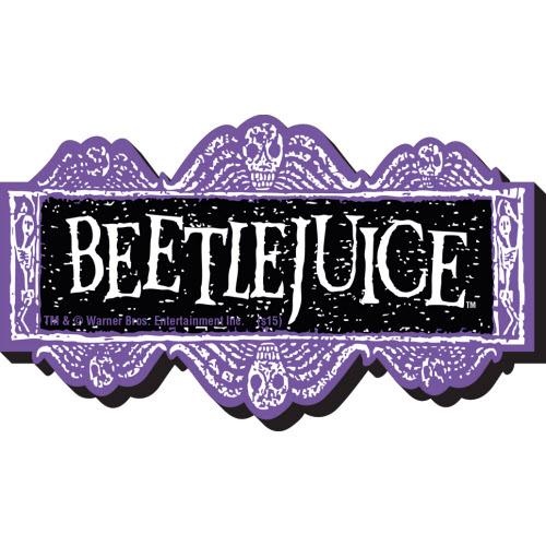 Beetlejuice Logo Funky Chunky Magnet