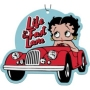 Betty Boop Air Freshener. Live Life in the Fast lane with Betty Boop.