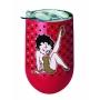 Betty Boop Stainless Steel Wine Tumbler.