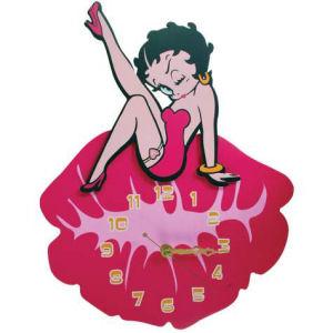Betty Boop Kiss Wall Clock
