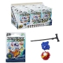 Beyblade Micros Tops Display Case Assortment. Display contains 24 blind bagged spinning tops.