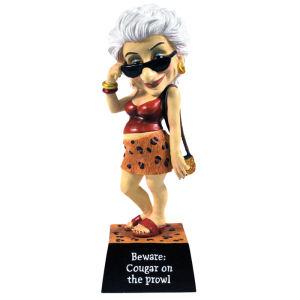 Biddys Cougar Figurine