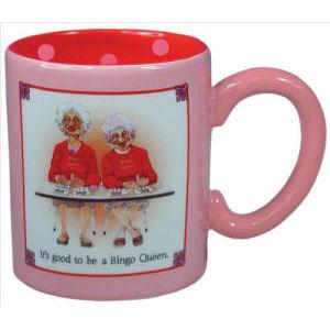 Biddys Bingo Queens Coffee Mug