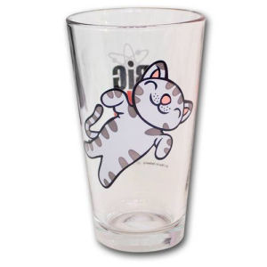 The Big Bang Theory Soft Kitty Pint Glass