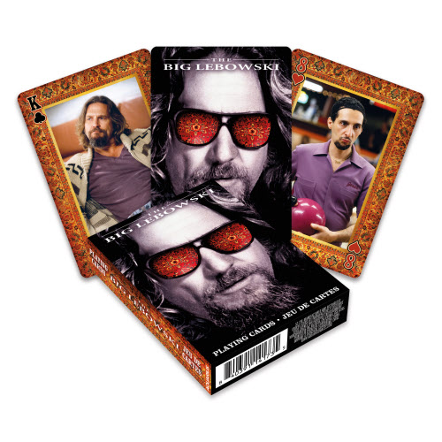 Big Lebowski Playing Cards.