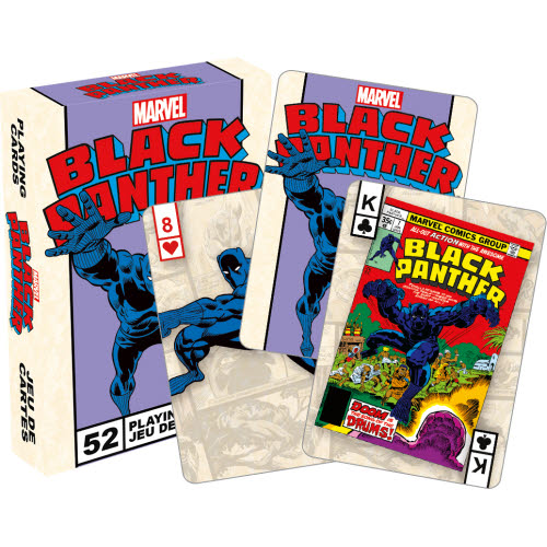 Marvel Comics Black Panther Retro Playing Cards.