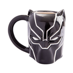 Black Panther 20 Ounce Ceramic Sculpted Mug