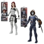 Black Widow Titan Hero 12 Inch Action Figure Case. Case includes -  2 TITAN HERO WIDOW - 2 TITAN HERO TASKMASTER.