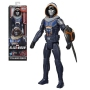 Black Widow Movie Taskmaster Titan Hero 12 Inch Action Figure.