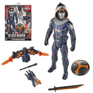 Black Widow Movie Blast Gear Taskmaster 12 Inch Titan Heroes Action Figure