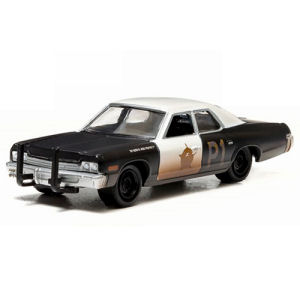 Blues Brothers 1974 Dodge Monaco Bluesmobile 1/64th Scale Die-Cast Metal Vehicle