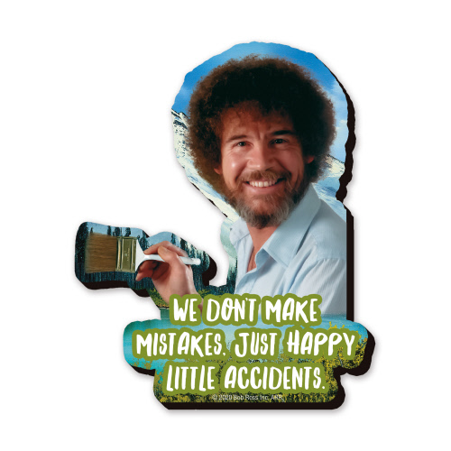 Bob Ross Mega Funky Chunky Magnet.