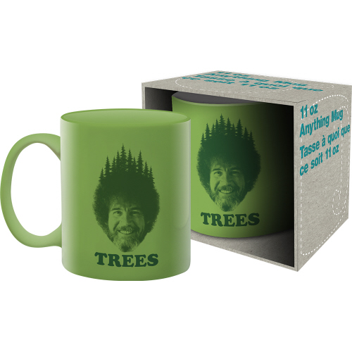 Bob Ross- Trees 11 Ounce Mug.