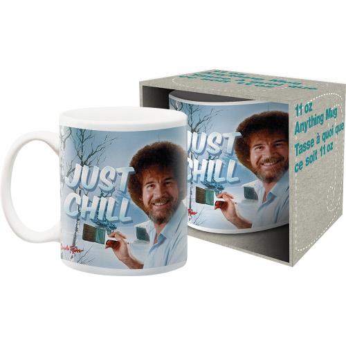 Bob Ross Just Chill 11 Ounce Mug