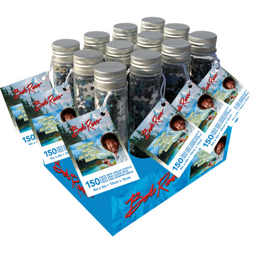 Bob Ross 150 Piece Puzzle In A Tube.