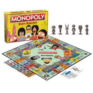 Bobs Burgers Monopoly Game