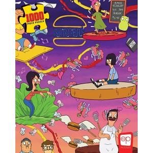 Bobs Burgers Burger Dreams 1000 Piece Jigsaw Puzzle