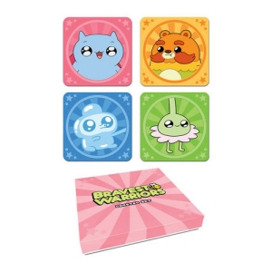 Bravest Warriors Assorted 4-Pack Coasters